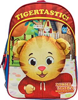 The Fred Rogers Company Daniel Tiger Backpack With Plush Applique Backpack