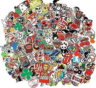 CHNLML Cool Sticker 55-905pcs Random Music Film Vinyl Skateboard Guitar Travel Case Sticker Door Laptop Luggage Car Bike B...