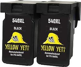 Yellow Yeti PG-540XL PG-540 XL Cartuchos de Tinta remanufacturados Negro para Canon Pixma MG3250 MG3550 MG4250 MG3150 MX395 MX535 MG3650 MG2250 MG2150 MX525 MX475 MX435 MX375 MX455 MG4150