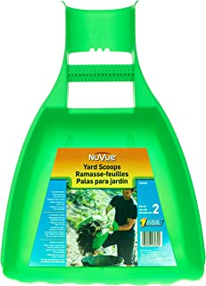 Nuvue Products 26060, 1 Pair Yard Scoops, Green