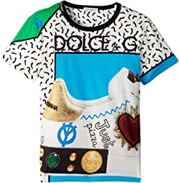 Dolce & Gabbana Kids - Scarpe Print T-Shirt (Toddler/Little Kids)