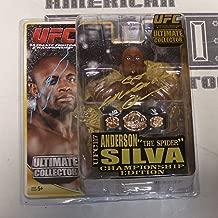Anderson Silva Signed UFC 117 Round 5 Action Figure w Belt COA Autograph - PSA/DNA Certified - Autographed UFC Miscellaneous Products