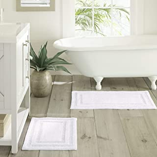 Tommy Bahama Isla Bath Rug Set, 17x24, White