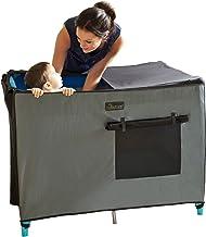 SnoozeShade Przenośna roleta zaciemniająca i baldachim do łóżeczek dziecięcych