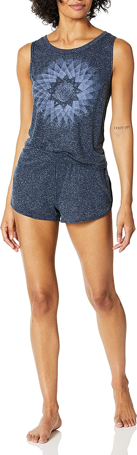 Retrospective Women's Don't miss the Detroit Mall campaign Tank and Set-Loungewear Pajama Short