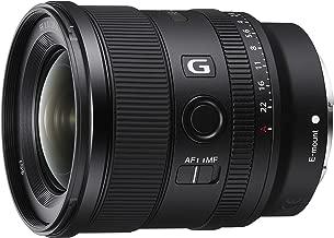 Sony FE 20mm F1.8 G Full-Frame Large-Aperture Ultra-Wide Angle G Lens