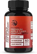 Nobi Nutrition Apple Cider Vinegar Fat Burner Pills for Women - Premium Weight Loss Supplement - Womens Metabolism Booster & Appetite Suppressant - Thermogenic Diet Pills - 60 Veggie Capsules
