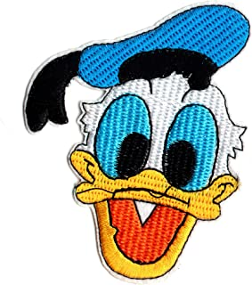 Donald Duck Iron On Clothing Patch