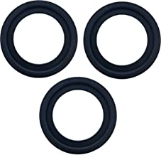 Essential Values 3 Pack Replacement Flush Ball Seal for Dometic RV Toilets, Compatible with Models: 300/310/320 – Equivalent to Part Number 385311658