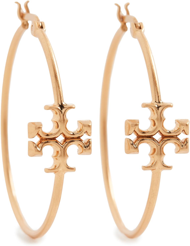 Tory Burch Women's Kira Hoop Earrings