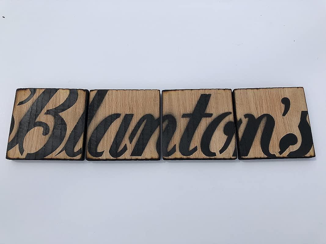 Blanton S Bourbon Oak Coasters
