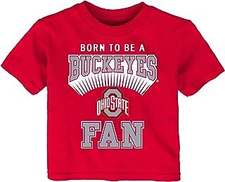 Ohio State Buckeyes NCAA 12M-24M Born to Be T-Shirt