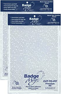 Badge Magic Cut to Fit Freestyle Patch Adhesive Kit (2-Pack)