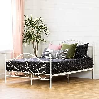 South Shore Summer Breeze Complete Full Metal Platform Bed (54