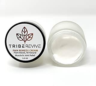 TRIBERevive Cream for Pain Relief l Cooling Menthol and Wintergreen Cream for Numbing Relief l Pain Relieving Cream for Everyday Use l Joint and Muscle Pain Relief Cream