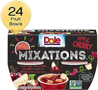 DOLE FRUIT BOWLS Mixations Fruit Bowl, Apple Cherry, 4 Cups (6 Pack)