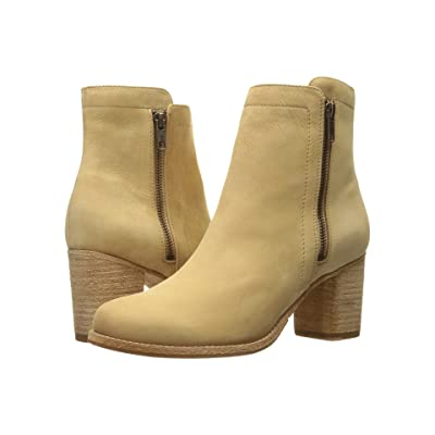 Frye Addie Double Zip (Sand Soft Italian Nubuck) Women