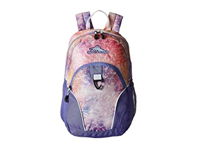 High Sierra Mini Loop Backpack (Unicorn Clouds/Lavender/White) Backpack Bags