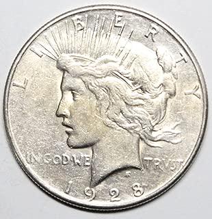 1928 d peace dollar