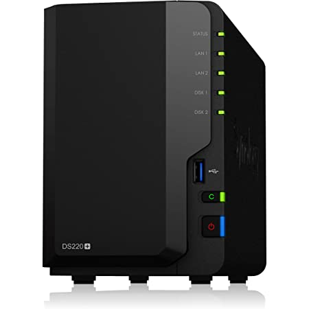Synology 2 Bay NAS DiskStation DS220+ (Diskless)