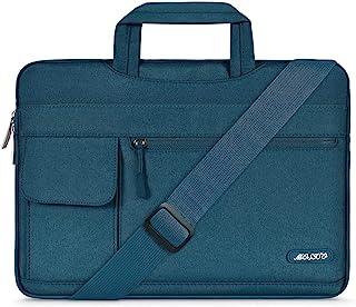 MOSISO Laptop Schultertasche Kompatibel mit 13-13,3 Zoll MacBook Pro, MacBook Air, Notebook Computer, Polyester Flapover M...