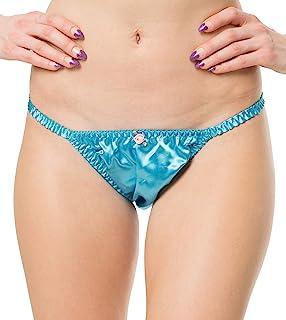 RedRose Satin Tanga Bikini Briefs Panties