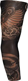 Sussex Supplies Fake Tattoo Sleeve - Skull & Snake (T93)