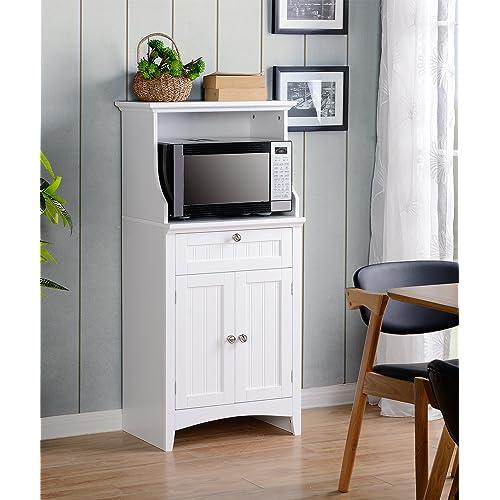 Kitchen Microwave Hutch: Microwave Cabinets With Storage: Amazon.com