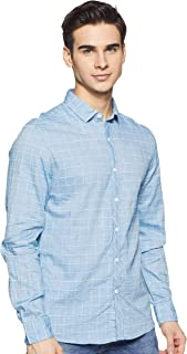 Colt Men's Solid Slim fit Casual Shirt