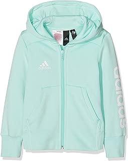 adidas Girls' Youths Essentials 3-Stripes Mid Hoodie