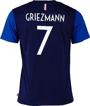 Equipe de FRANCE de football T-Shirt FFF - Antoine Griezmann - Collection Officielle 2 étoiles