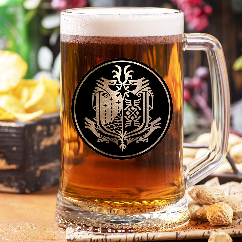 Monster Hunter World Ranking TOP12 Beer Glass Mug Stein MHW Save money Gamer