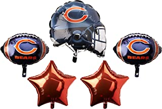 Anagram 31399 Chicago Bears Balloon Bouquet, Multicolored