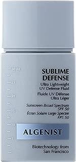 ALGENIST SUBLIME DEFENSE Ultra Lightweight UV Defense Fluid SPF 50 - 30ml/1oz. (BNIB)