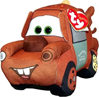 Ty Disney Pixar Cars 3 Mater Plush Toy, 5 X 4 X 7.5