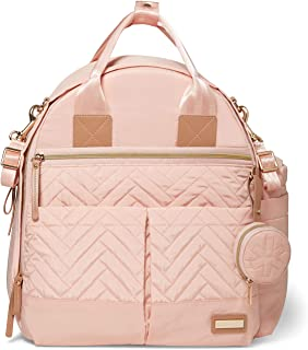 Skip Hop Diaper Bag Backpack: Suite 6-in-1 Diaper Backpack Set, Multi-Function Baby Travel Bag with Changing Pad, Stroller...