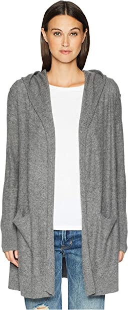 Hooded Robe Cardigan