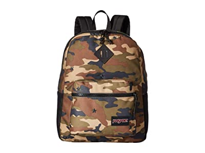 JanSport Super FX (Camo Star Embroidery) Backpack Bags