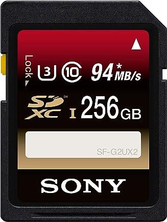 Amazon.com: Sony 256GB Class 10 UHS-1/U3 SDXC up to 94MB/s ...