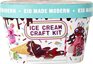 Kid Made Modern Ice Cream Craft Kit - Kids Arts and Craft Toys