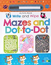Page Publications Collection - Write and Wipe Mazes and Dot-to-Dot Activity Books - Early Learning for Children - Perfect ...