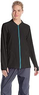 Women's Cross-Flex Women's Knit Mix Zip-Front Scrub Jacket