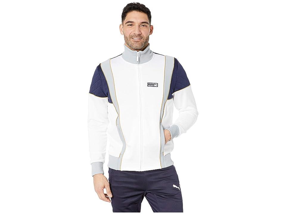 PUMA Lux Spezial Track Jacket (PUMA White/Peacoat/Quarry/Honey Mustard) Men