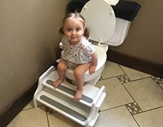 Poop Stoop Potty-Training Kids Foot Stool/Toilet Squat Stool/Toilet-Training Footstool