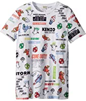 Kenzo Kids - Tee Shirt Food Print (Big Kids)
