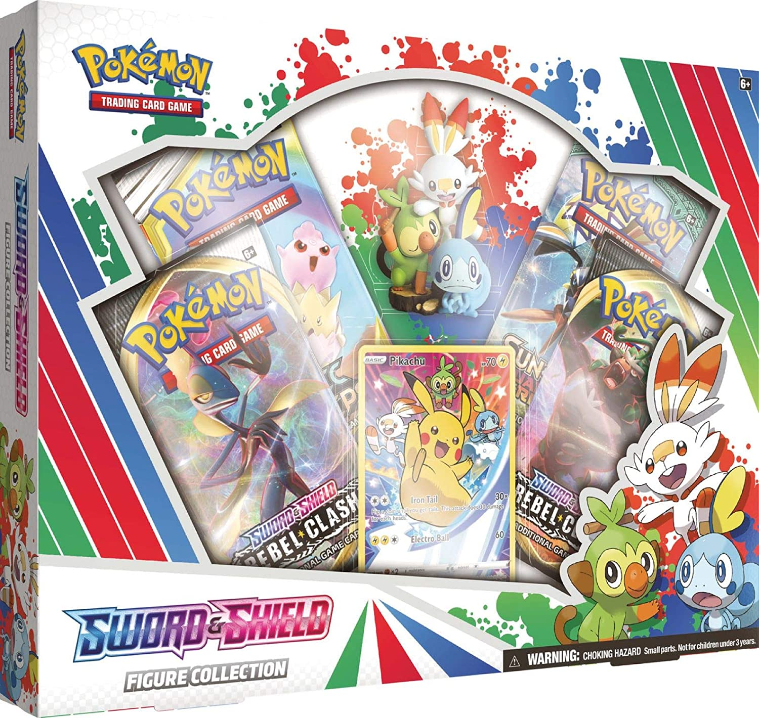 Pokemon TCG: Sword Shield Figure 4 Packs outlet Booster 40% OFF Cheap Sale Collection