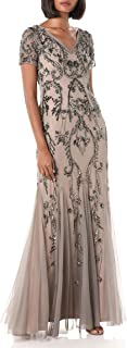 Women's Beaded Long Dress
