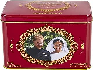New English Teas Prince Harry & Meghan Markle Commemorative Tin 40 Teabags