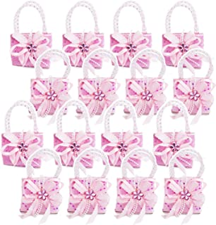 S & E TEACHER'S EDITION 16 Pcs Party Favors Fillers for Girls, Mini Pink Handbags Design, Party Decorations