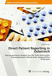 Kindler, A: Direct Patient Reporting in Österreich